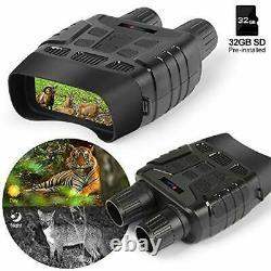 Night Vision Binocular, Ctronics Numérique Infrarouge Ir Lunettes De Vision Nocturne