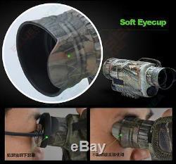 Night Vision Binocular Monoculaire De Chasse Lunettes Numérique Nv Dvr Caméra De Sécurité