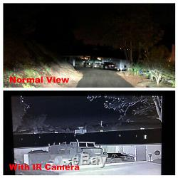 Night Vision Caméra Hd D'imagerie Thermique Numérique Capteur De Chaleur Infrarouge Automobile