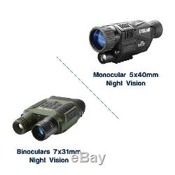 Night Vision Goggles Numérique Technologie Infrarouge Fantastique État Réglable