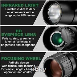 Night Vision Infrarouge Caméra Vidéo Numérique 5x40 Monoculaire Surveillance / Chasse