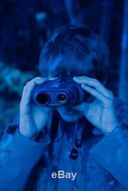Nightfox 110r Grand Écran De Vision Nocturne Infrarouge Binocular Numérique 165yd Ra