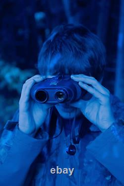 Nightfox 110r Widescreen Night Vision Binocular Digital Infrared 165yd Gamme