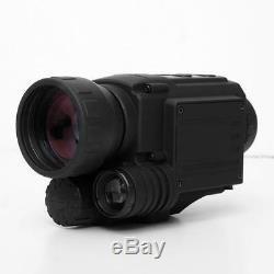 Nouveau Pyle Monoculaire Numérique De Vision Nocturne (caméra / Caméscope) Image Et Vidéo