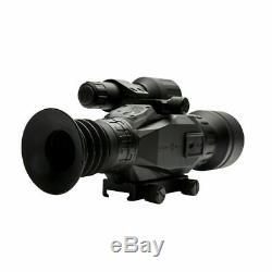 Nouveau Sightmark Wraith Hd 4-32x50 Lunette De Visée Numérique Pour Vision De Jour / Nuit Sm18011