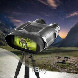 Numérique Binocular Vision Nocturne Ir Illuminateur Caméra Zoom Optique 7x Wild Life