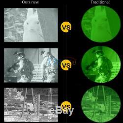 Numérique Infrarouge Ir Hd Monoculaire Casque Telescope Night Vision Chasse De L'appareil