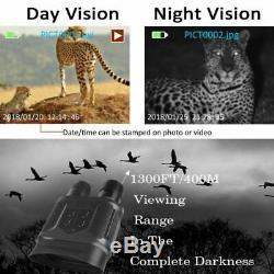 Numérique Nv400b Infrarouge Hd Night Vision Chasse Binocular Portée De La Caméra Vidéo Us