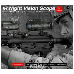 Numérique Tactique Infrarouge De Vision Nocturne Pour La Chasse Télescope Monoculaire