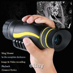 Nv0435 4x Infrarouge De Vision Nocturne Télescope Avec 1080p 2mp Numérique Cam