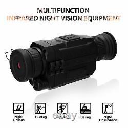 Nv0535 Vision De Nuit Portée Infrarouge Caméra Numérique Hd Ir Vision De Nuit Périphérique A7x9