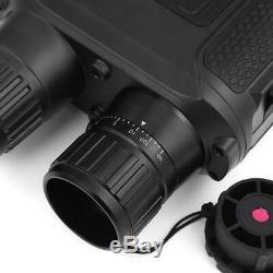 Nv400 Vision Nocturne Zoom Binocular Telescope Portée Numérique Hd 720p Infrarouge 850nm