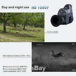 Optique De Vision Nocturne De Chasse De 1080p Nv007 Portée 850n600 Ir Pour Le Fusil