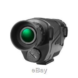 Ordinateur De Poche 5x40 Numérique De Vision Nocturne Infrarouge Hunting Hd Télescope Monoculaire