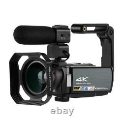 Ordro Ae8 4k Hd 3.0 Pouces À Écran Tactile Wifi 16x Vidéo Numérique Caméra De Vision Nocturne