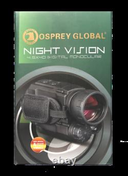 Osprey Global Digital Night Vision. Nouveau! Livraison Gratuite! Garantie À Vie