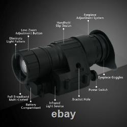 Outdoor Hunting Infrared Hd Digital Ir Monocular Vision Helmet Telescope Sfs