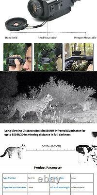 P4-0118 Ir Infrared Night Vision Monocular Nvm Nvg Scope Offers Accepted