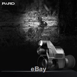 Pard Nv007 Chasse Numérique De Vision Nocturne Optique Portée 850nm Ir 800x600 Pour Rifle