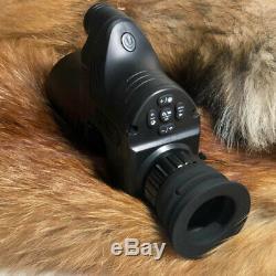 Pard Nv007 Numérique De Vision Nocturne Chasse Monoculaire 42/45 / Adaptateurs 48mm