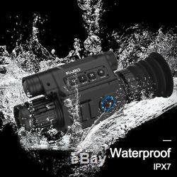Pard Nv008 Waterproof1080p Champ De Vision Nocturne Numérique Wifi Ios Et Android Apps