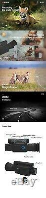 Pard Nv008lrf Télémètre Oscilloscope Numérique Night Vision Wifi Ios Et Android Apps