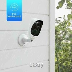 Reolink 1080p Sans Fil-caméra Batterie De Sécurité À L'extérieur Argus 2 Avec Solar Power