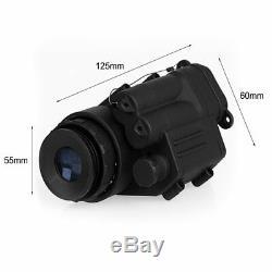 Riflescope Monoculaire De Vision Nocturne Infrarouge Professionnelle De Digital De Digital Pour Le Casque