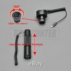 Riflescope Nightvision Moniteur De Batterie Numérique Infrarouge Portée Chasse Lampe De Poche