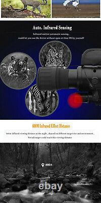 Rongland 760d Ir Infrarouge Night Vision Nvg Monoculaire Offres D'étendue Acceptées