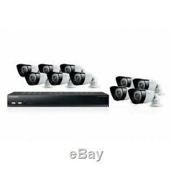 Samsung Sds-p5101 16 Canaux Dvr + 1 To 10 Caméras De Surveillance Sdc-5340 Sds-5100