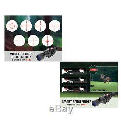 Scope De Fusil Atn Corp X-sight II 3-14x Smart Hd, Vision Nocturne Numérique, Noir Mat