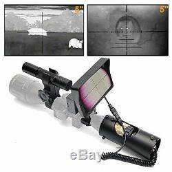 Scope De Vision Nocturne Numérique Pour La Chasse Au Fusil Avec Affichage Réglable De La Caméra 5