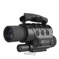Sécurité De Surveillance Monoculaire Des Lunettes D'étendue De Caméra De Vision Nocturne Numérique Ir