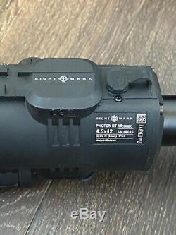 Sightmark Photon Numérique De Vision Nocturne 4.5x42 Rt Modèle Sm18016