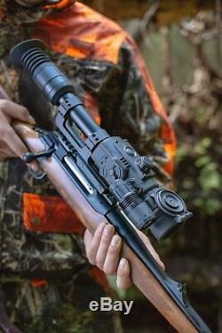 Sightmark Photon Rt 4.5x42s Numérique De Vision Nocturne Riflescope Avec Connexion Wi-fi (sm18015)