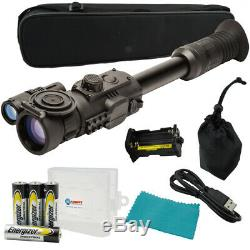 Sightmark Photon Rt Vision Numérique Nuit Portée 4.5x42s Avec 4 Piles Aa & Battery Case