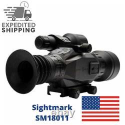 Sightmark Wraith Hd4-32x50 1/4 Moa Black Digital Vision Riflescope Sm18011
