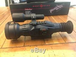 Sightmark Wraith Hd / Digital Day Night Vision Rifle Scope Forfait