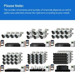 Smart Ai 4k 8mp Color Night Vision Human Detection Poe Ip Security Camera System
