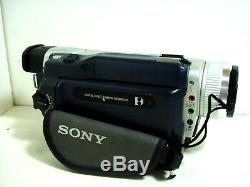 Sony Digital8 Caméscope Dcr-trv740 / Sony Handycam Lecteur 8mm / Hi8 Avec Garantie