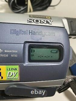 Sony Handycam Dcr-trv330 Digital8 Transfert D'enregistrement De Caméscope Jouer Hi8 Vidéo 8mm