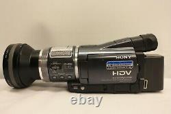 Sony Hdr-hc1e Caméscope Hd Haute Définition Mini DV Digital Tape Hdv Non Testé