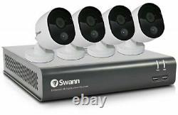 Swann 1080p Cctv Kit 4 Canaux Home Caméra De Sécurité Système De Vision Nocturne Extérieure