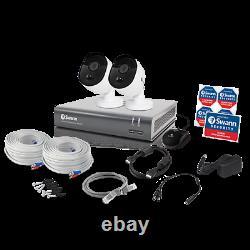 Swann 4ch 1080p Dvr Caméra Cctv Kit Système De Sécurité À La Maison Ir Outdoor Night Vision