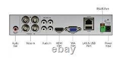 Swann Dvr4-4580 4 Channel Hd 1080p Dvr Ahd Tvi 1 To Hdd Cctv Recorder Hdmi Vga