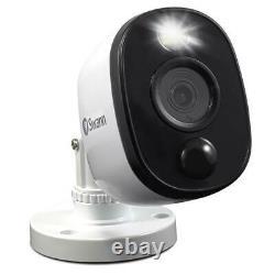 Swann Dvr 4580 16-ch Fhd 1 To Dvr Système De Sécurité Avec 12 Caméras De Lumière D'avertissement