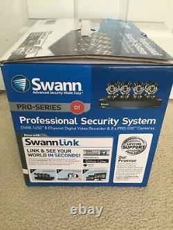 Swann Professional Security System 8 Channel Digital Video Recorder & 8x Caméras