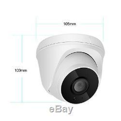 Système De Caméra De Sécurité Audio Sans Fil D'extérieur Wifi 8ch 1080p Nvr Cctv Ir Nuit