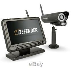 Système De Sécurité Dvr Defender Night Vision Appareil Photo Numérique Sans Fil 7 Po. Moniteur